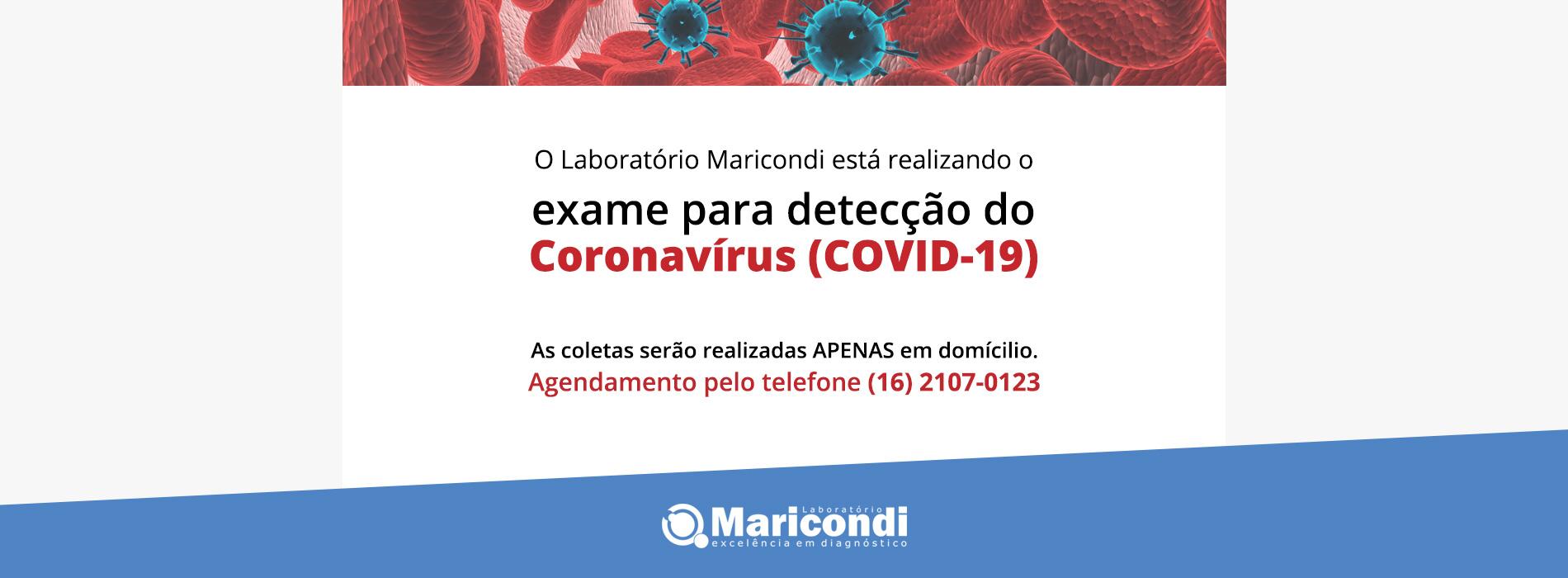 Coronavirus Exame São Carlos